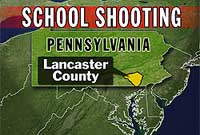 Gunman kills 3, then self at 1-room Amish schoolhouse in Pennsylvania