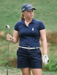 U.S. LPGA winner backs to work