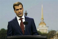 Dmitry Medvedev optimistic about relations with USA