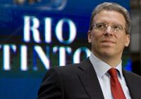 Rio Tinto Posts First-Half Profit Tumbling