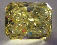 Giant yellow diamond goes on public view at Smithsonian Institution
