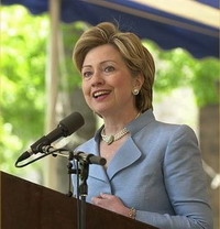 Hillary Rodham Clinton raises question of trade agreements