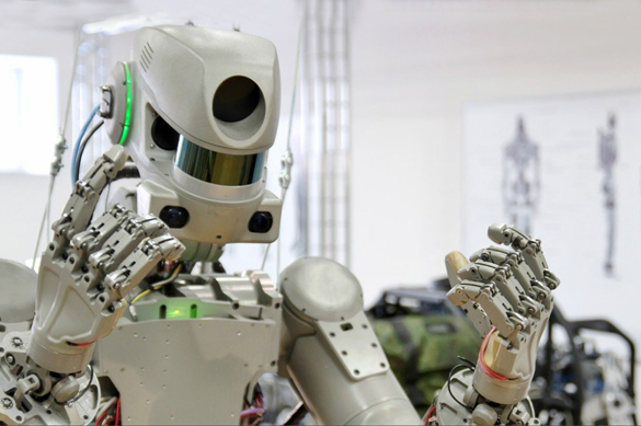 Humanoid robot to board Russia's new spaceship for experimental spaceflight. 61338.jpeg