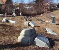 Police arrest 4 suspects of cemetery vandalism