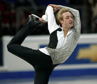 Olympic champ Plushenko returning to competition