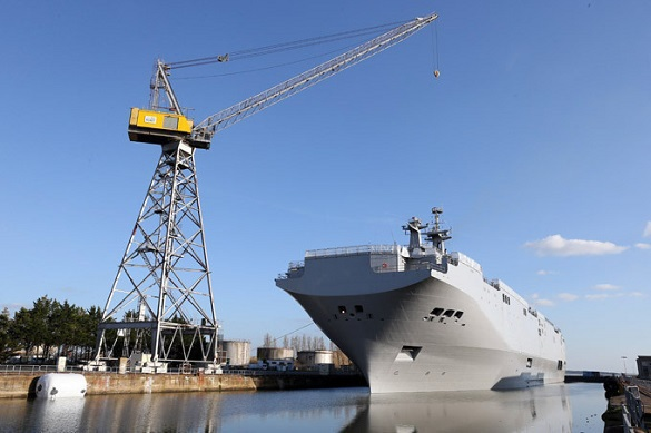 Russia wants written explanation from France regarding Mistral ships. 54341.jpeg