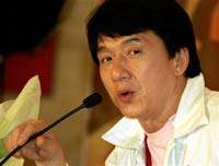 Jackie Chan records song for the Beijing Olympics
