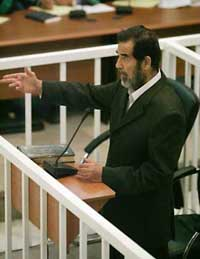 Verdict in Saddam trial not expected on Oct. 16