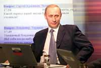 Putin praises economic surge but says it has left many Russians behind