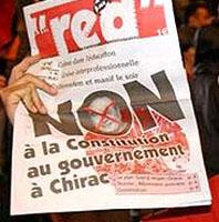 France said NON