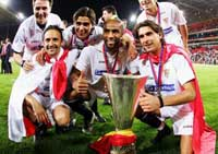 Sevilla gets easy time in draw for UEFA Cup groups