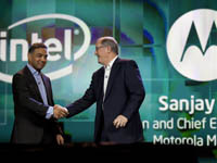 Intel joins efforts with Motorola and Lenovo to develop smartphones and tablets. 46345.jpeg