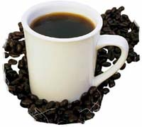 Chemist works on 'dipstick' test for caffeine in coffee