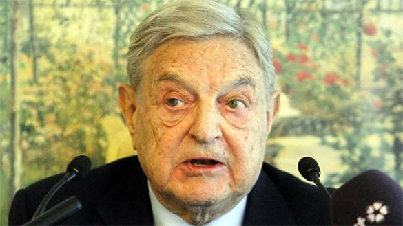 George Soros always there, where weak president is. George Soros