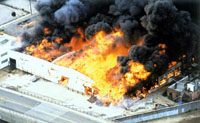 Moscow factory fire: 3 killed
