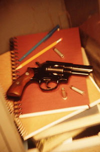 High school English teacher insists on taking gun to school