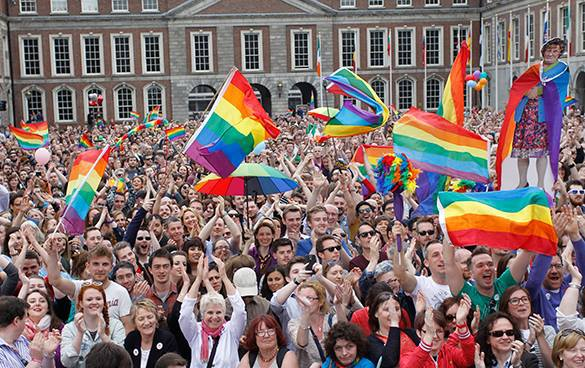 Social revolution in Ireland: 62% vote for gay marriage. Ireland