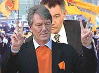 President Yushchenko and his Orange Revolution thrashed and humiliated