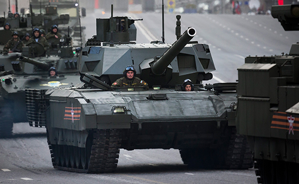 The Red Army is the strongest, greatest, invincible. Armata tank