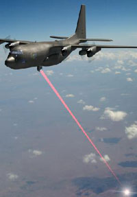 Airborne Laser Shoots Down Test Missile off California Coast