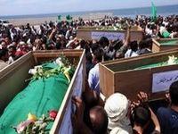 Libya buries 11 religious leaders murdered by NATO. 44357.jpeg