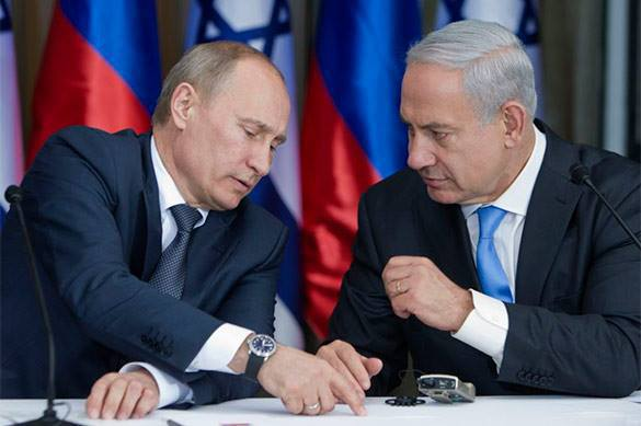 Israel fears to clash with Russian army in Syria. Putin and Netanyahu