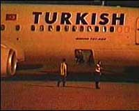 Turkish Airlines plane hijacked, lands in Italy