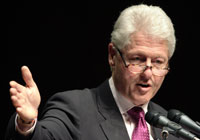 After Heart Operation Bill Clinton Back to Work