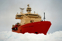 Argentine icebreaker catches fire in South Atlantic