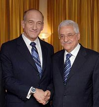 Olmert and Abbas to meet Sunday, Palestinian officials say