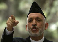 Afghanistan President Hamid Karzai Claims Victory