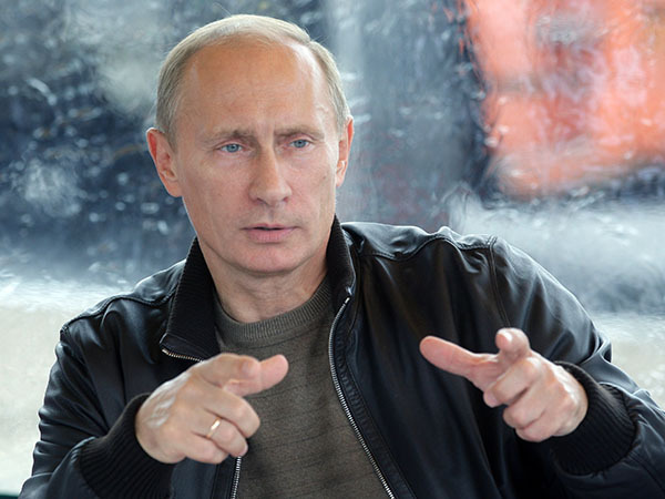 Putin wants the world to honor Russia again. Vladimir Putin Person of 2014