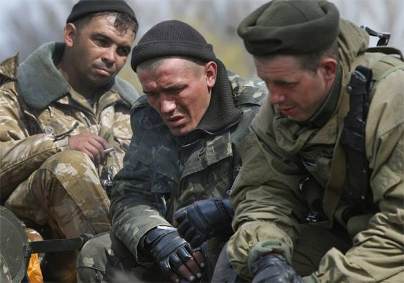 Militia forces take control of Donetsk airport. Donetsk militia take airport