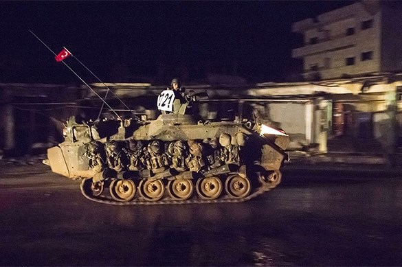 Turkey refuses from operation in Syria. Turkey will not invade Syria