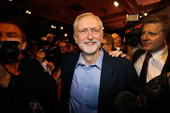 Britain stakes on steadfast tin soldier. Jeremy Corbyn