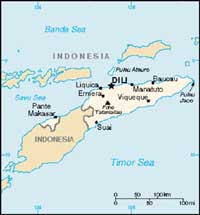 Soldiers arrested after rioting in East Timor