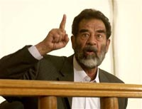 Saddam trial descends into chaos