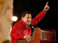 Chavez Laughs in Hillary Clinton's Face and Awards War Prize to Obama