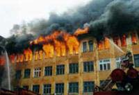 Fire destroys major publishing house in Moscow