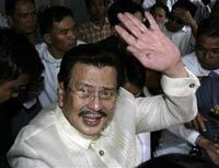 Philippine's Estrada says he'll consider presidential pardon