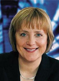 Angela Merkel discusses prophet dispute