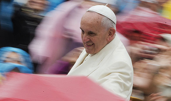 Pope Francis: no problem in the world can be solved without Russia. Pope Francis
