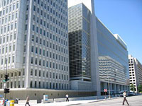FBI finds no explosives probing World Bank telephone threat