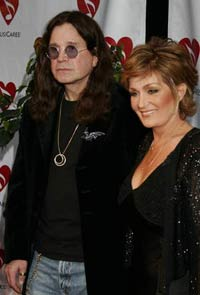 Ozzy and Sharon Osbournes to auction items from three homes