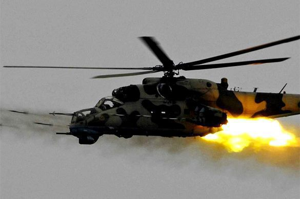 IS terrorists shoot down Russian Mi-35 chopper, killing two pilots. Video. 58376.jpeg
