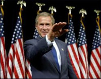 Will George W. Bush surpass Hitler with regard to criminal effects?
