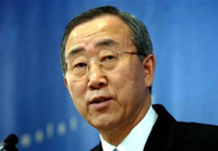 Ban Ki-moon promises to bring peace to Middle East as 8th UN Secretary General