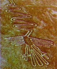 Nasca lines in Peru