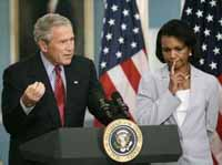 Condoleezza Rice lays groundwork for return to California at the end of Bush's term