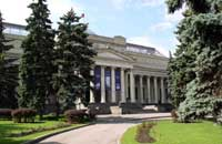 Pushkin Museum in Moscow